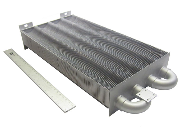 Теплообменник корпус основной теплообменник подогрева м10 mfg